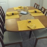 Quick Salt and Pepper Set and a Tablescape