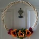 Fall Wreath Dollar Tree Style
