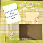 Scrap Saturday: A Scrapbook for a Baby Boy