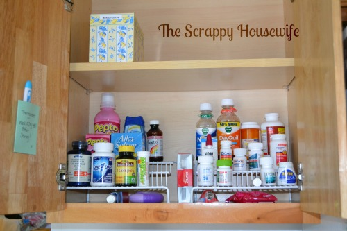How To: Organize And Maintain Your Medicine Cabinet   The Message In The  Mess