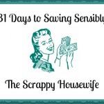 31 Days To Saving Sensibly