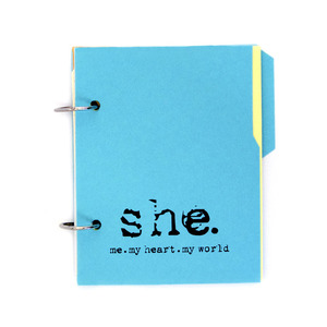 Image of {She: Me, My Heart, My World} – Personal Journal 1.1