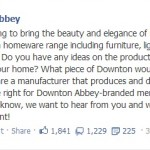 Downton Abbey Home Decor