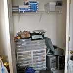 Home Office Closet Make Over Part 1