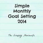 Simple Goal Setting in 2014