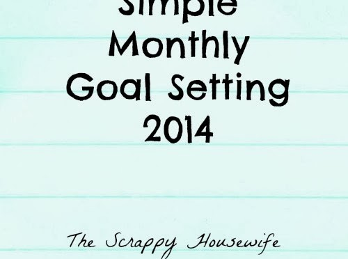 Simple-Monthly-Goal-Setting