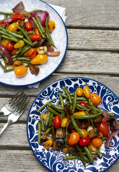 Balsamic Grilled Vegetables via Family Fresh Cooking