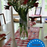 4th of July Tablescape Inspiration and Simple Decor