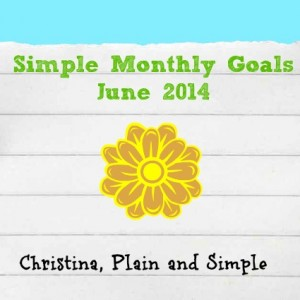 Simple Goals June