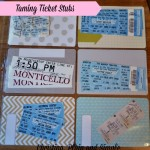 Taming ticket stubs with Project Life