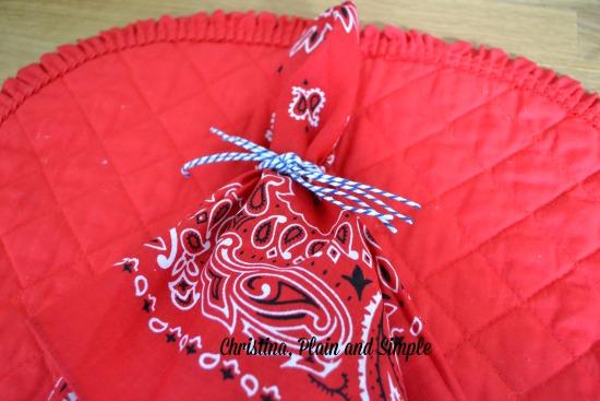 bandana napkins