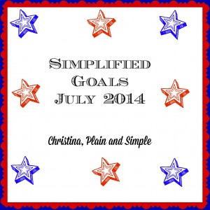 Simplified Goals July 2014