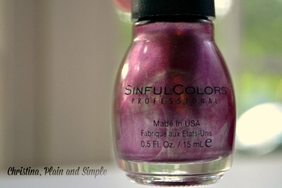 Sinful Colors Sage Rose