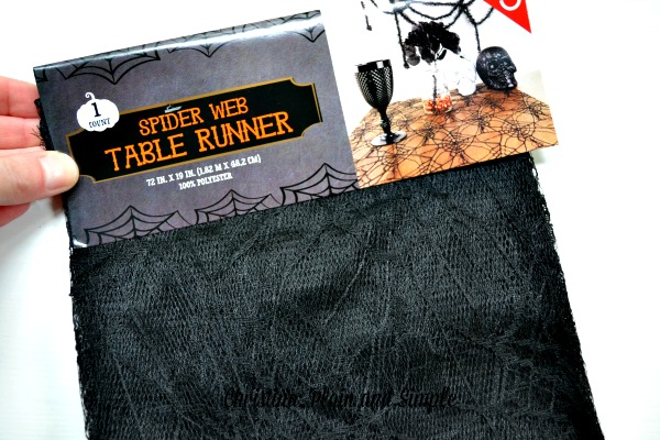 Spider Web Table Runner