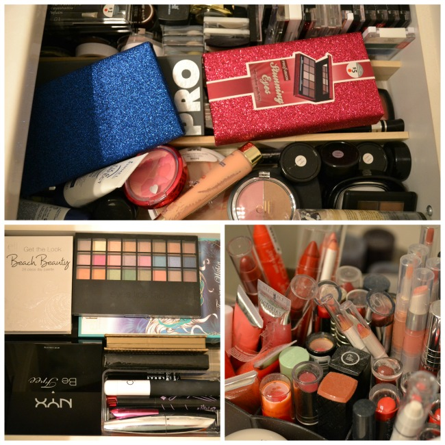 My make up stash