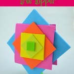 Easy DIY Neon Christmas Tree Topper