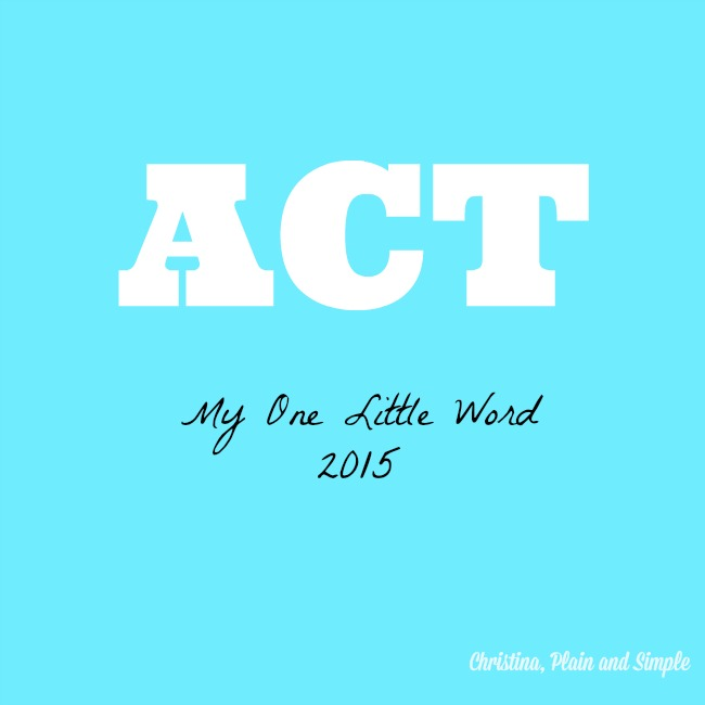 One Little Word 2015