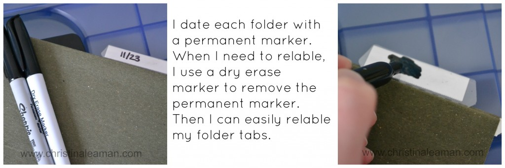 labeling hanging file folders