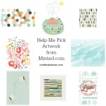 Choosing Artwork from Minted.com