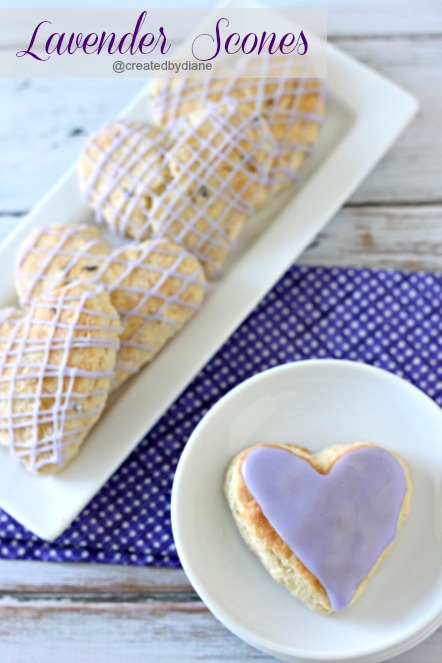 Lavender Scones / Created By Diane