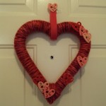 Valentine's Day Wreath and Table Decor