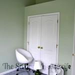 Craft Room Organization: Paint and Lighting