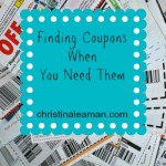 Finding Coupons When I Need Them – WITHOUT Clipping Everything