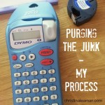 Spring DeJunk Challenge – My Process to Purging the Junk